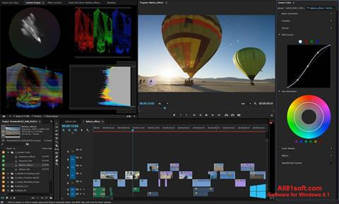 截圖 Adobe Premiere Pro Windows 8.1