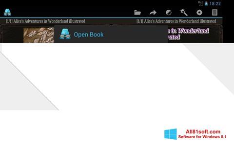 截圖 AlReader Windows 8.1