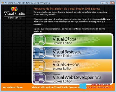 截圖 Microsoft Visual Studio Windows 8.1