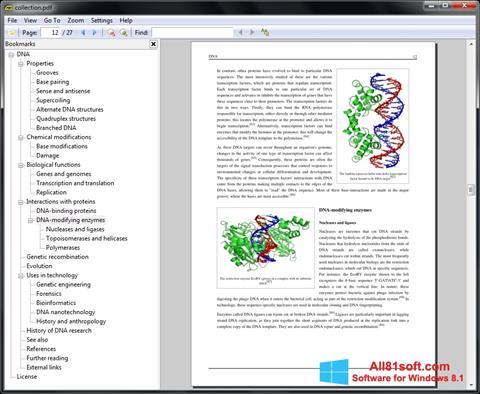 截圖 Sumatra PDF Windows 8.1