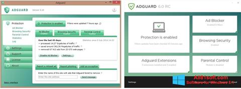 截圖 Adguard Windows 8.1