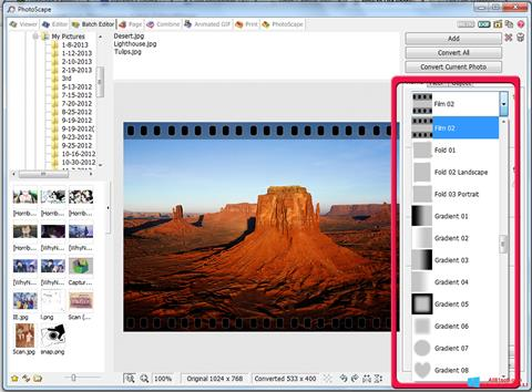 截圖 PhotoScape Windows 8.1