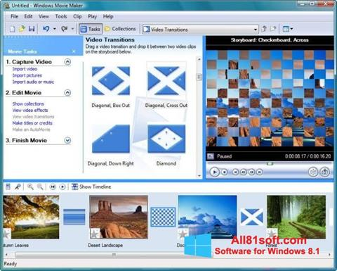 截圖 Windows Movie Maker Windows 8.1